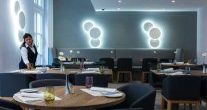 Modernes Restaurant des Hotels