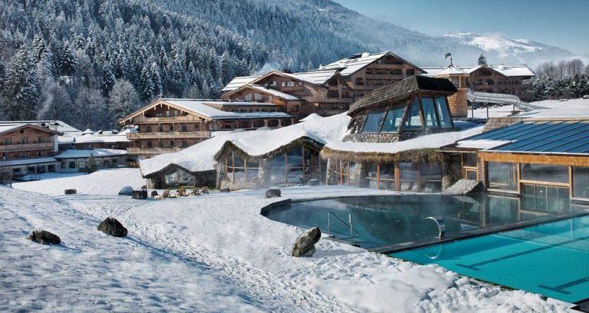 schoensteOrtderWelt Stanglwirt Hotel im Winter