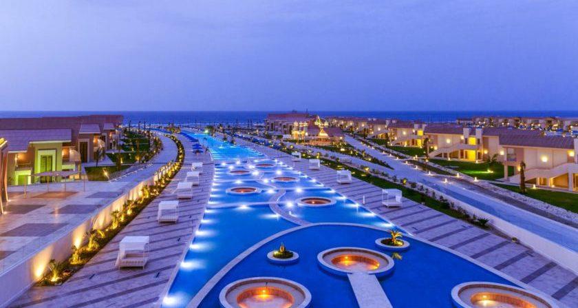 Schönste Ort der Welt ALBATROS SEA WORLD MARSA ALAM in Ägypten Überblick Pool