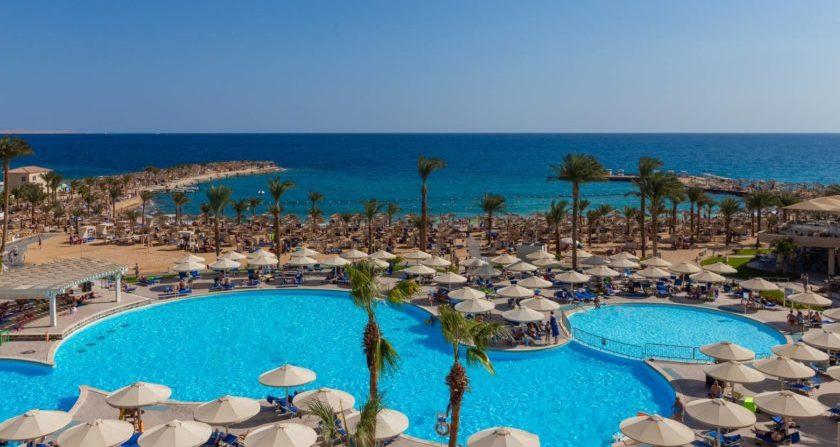 Schönste Orte der Welt Beach Albatros Resort in Ägypten Pool mit Meerblick