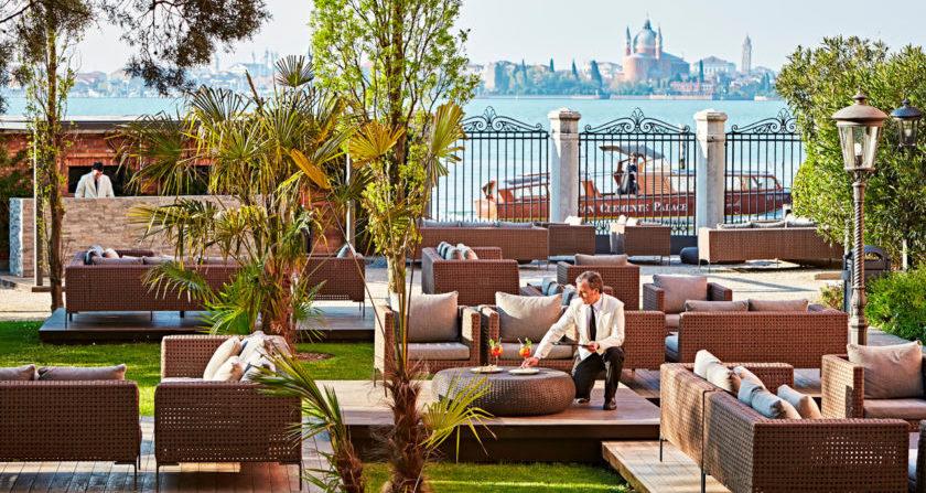 schönste Orte der Welt San Clemente Palace Kempinski in Venedig Hotelgarten